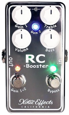 XOTIC RC BOOSTER V2  PEDALE EFFETTO