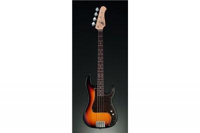 XP1T 4 corde Ontano/Palissandro P-Bass ThreeToneBst