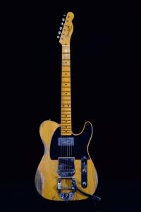 Fender Ltd Cunife Blackguard Tele Heavy Relic Mn Aged Butterscotch Blonde