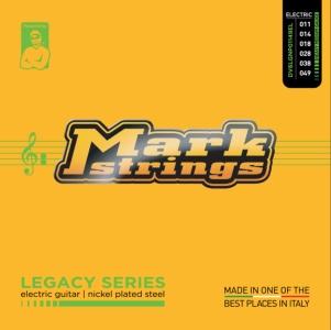 Dv Mark Muta per Chitarra Elettrica Medium Heavy Legacy Nickel Plated 11-49