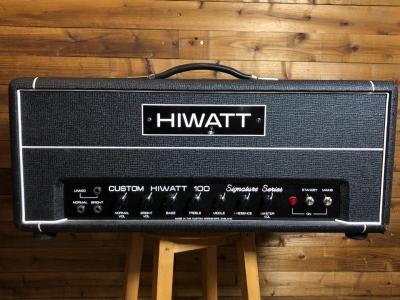 Hiwatt Custom 100 DG103 Gilmour signature USATA
