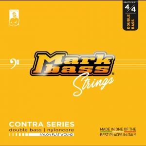 Markbass Double Bass Nyloncore Nylon Flat Wound 4/4