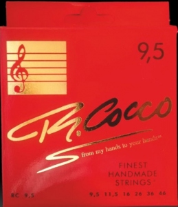 Cocco Rc95 Muta Corde Chitarra Elettrica 9.5-46 Nickel