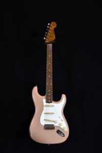 Fender Custom Shop Tomatillo Stratocaster Relic Aged Dirty Shell Pink