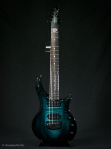MUSICMAN MAJESTY 2019 ENCHANTED FOREST EBONY 7 CORDE