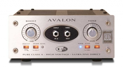 AVALON U5 MONO PREAMPLIF D.I. DIRECT OUT