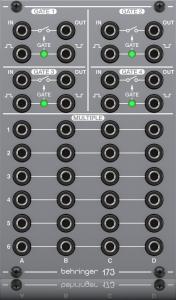 Behringer 173 Quad Gate/Multiples Module