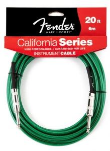 Fender Cavo 6Mt California Surf Green