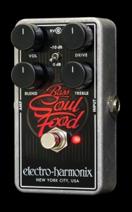 ELECTRO HARMONIX BASS SOUL FOOD PEDALE EFFETTO
