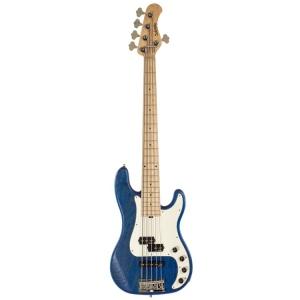 Sadowsky Metro Line 5 Strings P/J Bass 21 Frets Hybrid Maple Ocean Blue Satin
