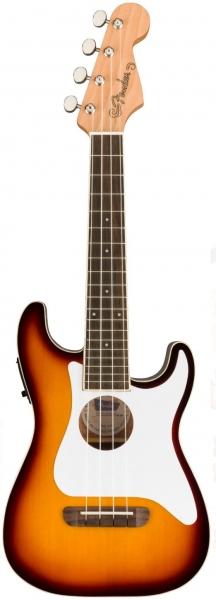 Fender Fullerton Strato Uke Concert Ukulele Sunburst