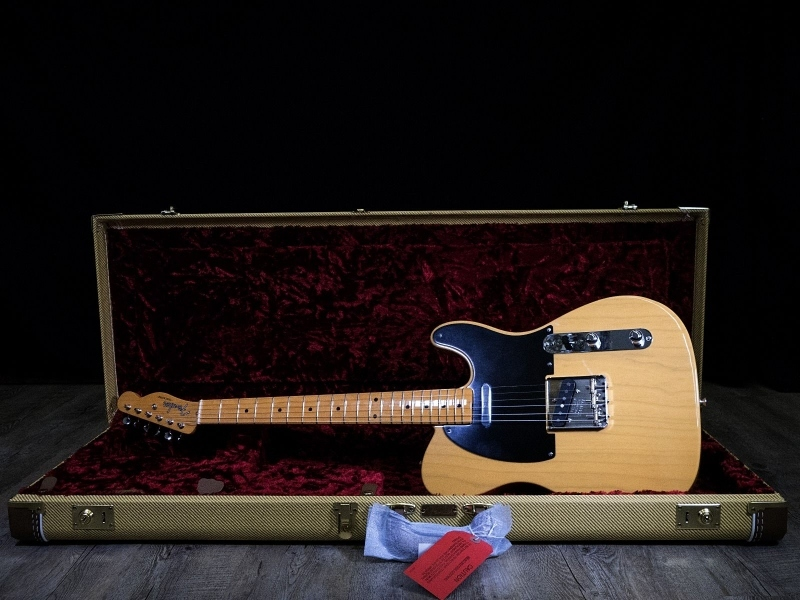 FENDER AMERICAN ORIGINAL 50S TELECASTER BUTTERSCOTCH BLOND 4