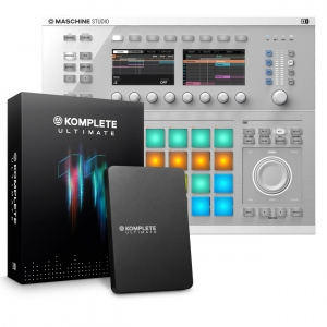 NATIVE INSTRUMENTS BUNDLE MASCHINE STUDIO WH + KOMPLETE 11 ULTIMATE - OFFERTA