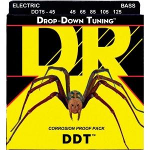 DR STRINGS MUTA DDT5-45 DROP DOWN TUNING 45-125 PER BASSO ELETTRICO