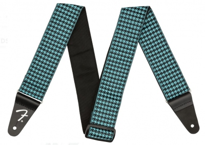 Fender Tracolla Houndstooth Jacquard Teal