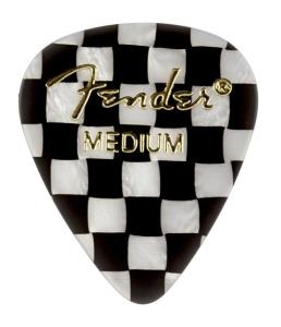 Fender Plettri 351 Scacchi Medium Pack 12 Pz
