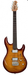 Sterling By Music Man Luke Flame Maple Top Hazel Burst