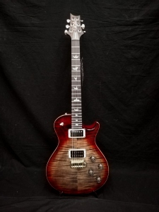 PRS TREMONTI PATTERN THIN CHARCOAL CHERRY BURST