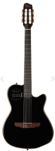 Godin Acs Slim Cedar Black Hg Factory
