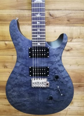 PRS SE STANDARD 24 SATIN QUILT STEALTH LIMITED EDITION 2018