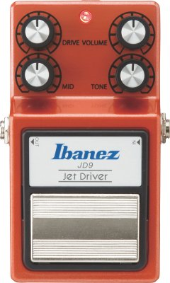 IBANEZ JD9 JET DRIVE OVERDRIVE PEDALE EFFETTO