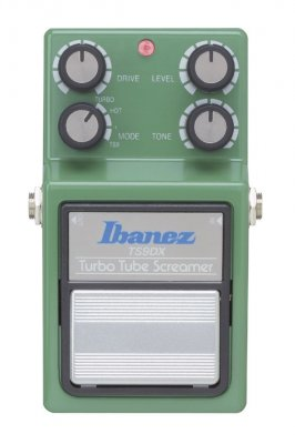 IBANEZ TS9DX  TURBO SCREAMER OVERDRIVE PEDALE EFFETTO