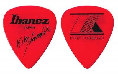 Ibanez 1000klrd - confezione 50 plettri kiko loureiro -extra heavy rosso