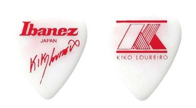 Ibanez 1000klwh - confezione 50 plettri kiko loureiro -extra heavy bianco