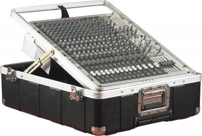 Gator G-mix-12 pu - astuccio per mixer rack mount 12 unità con sistema pop-up