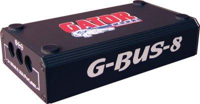 Gator g-bus-8 pedal board