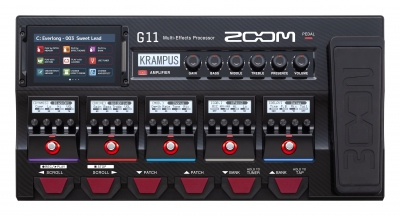 ZOOM G11 PEDALIERA MULTIEFFETTO AMP SIMULATOR INTERFACCIA AUDIO