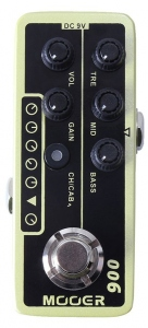 MOOER 006 US CLASSIC DELUXE PREAMPLIFICATORE DUE CANALI