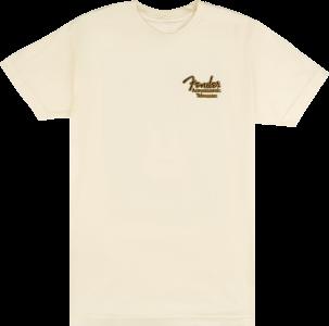 Fender Acoustasonic Tele T-Shirt Black Medium