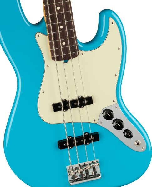 Fender American Professional Ii Jazz Bass Rosewood Miami Blue 1