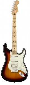 FENDER PLAYER STRATOCASTER HSS 3 TONE SUNBURST