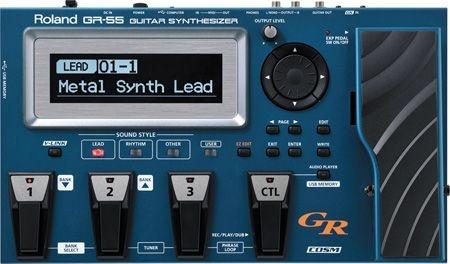 Roland Gr55S Guitar Synth Convertitore Midi Per Chitarra
