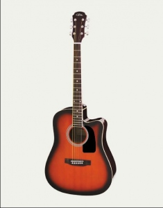 ARIA AW15CE-BS CHITARRA FOLK CUATWAY BROWN SUNBURST
