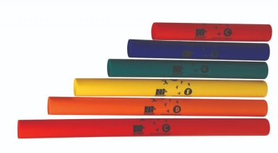 BOOMWHACKERS SET PENTATONICO 6 NOTE SCALA DO MAGGIORE