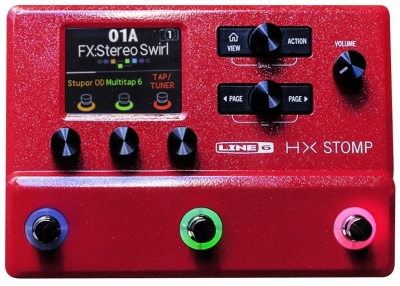 Line6 Hx Stomp Red Ii Special Edition