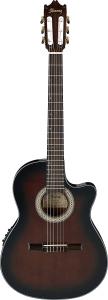 Ibanez GA35TCEDVS Chitarra Classica Cutaway Elettrificata Dark Violin Sunburst