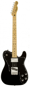 SQUIER VINTAGE MODIFIED TELECASTER CUSTOM BLACK