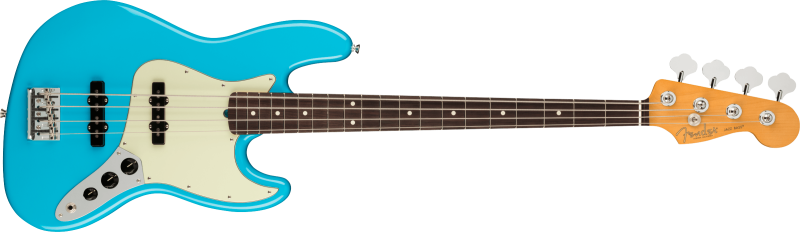 Fender American Professional Ii Jazz Bass Rosewood Miami Blue