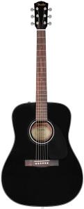 Fender CD60 Dreadnought V3 Black Chitarra Acustica Con Case Rigido