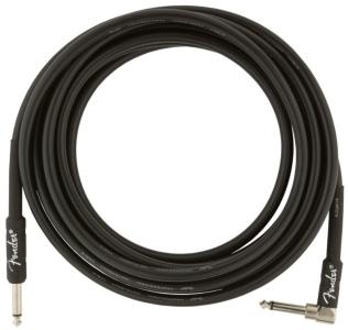Fender Cavo Professional Series Instrument Cable 4,5M Dritto Pipa Black