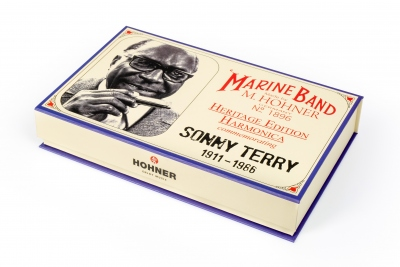 HOHNER ARMONICA IN DO SONNY TERRY HERITAGE EDITION KEY C
