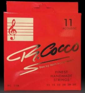 Cocco Rc11A Muta Corde Chitarra Acustica 11-50 Bronze