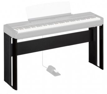 YAMAHA L515 BLACK STAND PER PIANO P-515