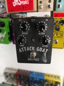 Wounded Paw Audio Attack Goat Bass Fuzz Usato