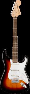 Squier Affinity Stratocaster Laurel Fingerboard 3 Color Sunburst Chitarra Elettrica