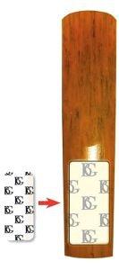 BG A80S BOOSTER ANCE SAX SOPRANO/ALTO/CLARINETTO 3 pz